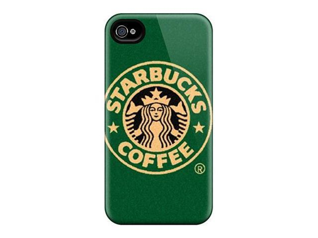 Anti-scratch And Shatterproof Starbucks Phone Case For Iphone 4/4s/ High Quality Tpu Case