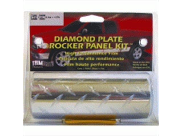 Trimbrite T1840 Chrome Diamond Plate Rocker Kit
