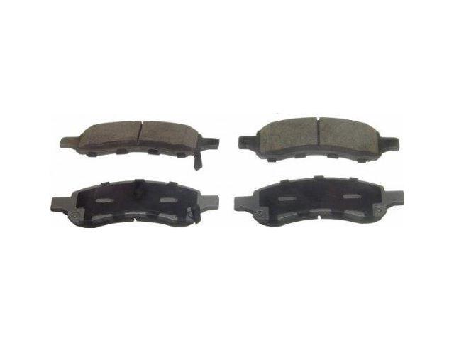 Wagner Qc1169A Disc Brake Pad - Thermoquiet, Front