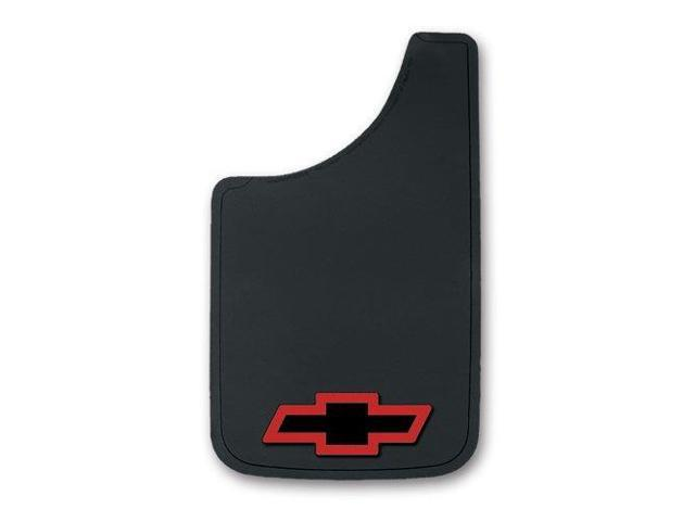 Plasticolor 000512R01 Chevy Red  Bowtie Easy Fit Mud Guard  11