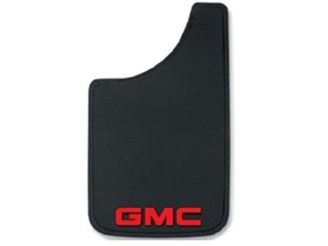 Plasticolor 000576R01 Gmc Logo Easy Fit Mud Guard   9