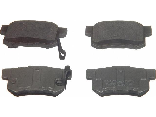 Wagner Qc537 Disc Brake Pad - Thermoquiet, Rear