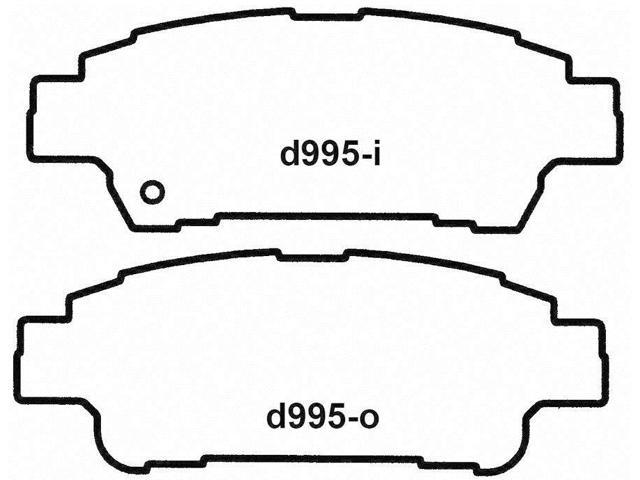 Wagner Pd995 Disc Brake Pad - Thermoquiet