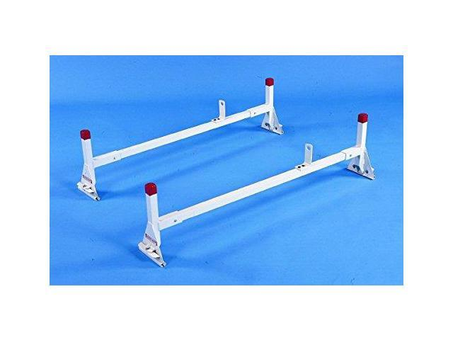 Weather Guard 209-3 White Aluminum 2 Cross Member Van Rack Clamp