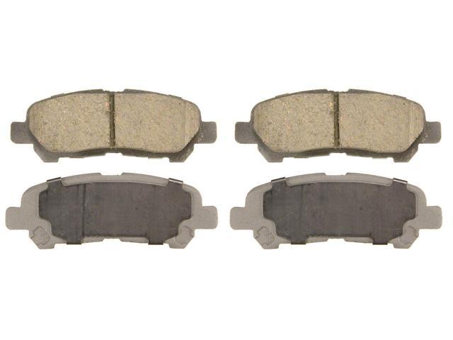 Wagner Qc1325 Disc Brake Pad - Thermoquiet, Rear