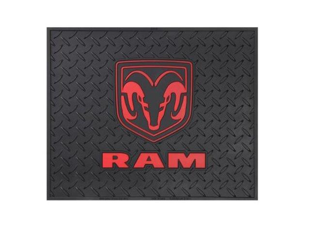 Plasticolor 001048R01 Dodge Ram Logo Utility Mat 14