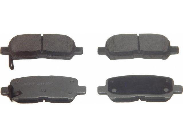 Wagner Pd999 Disc Brake Pad - Thermoquiet, Rear