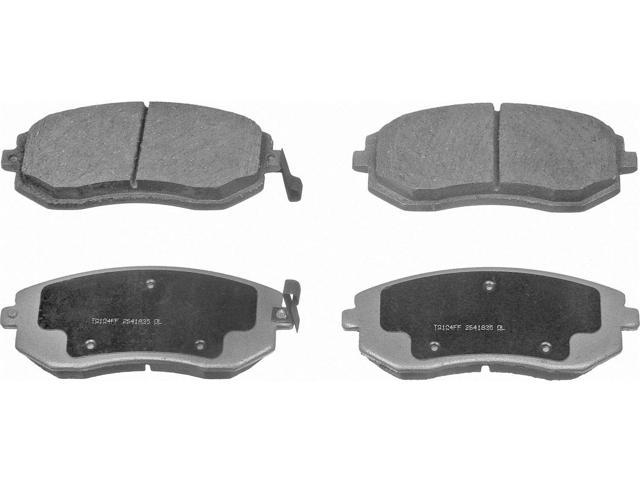 Wagner Pd929A Disc Brake Pad - Thermoquiet, Front