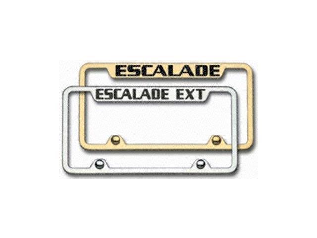 Auto Gold Lflinec Lincoln Engrvd Chr Frame