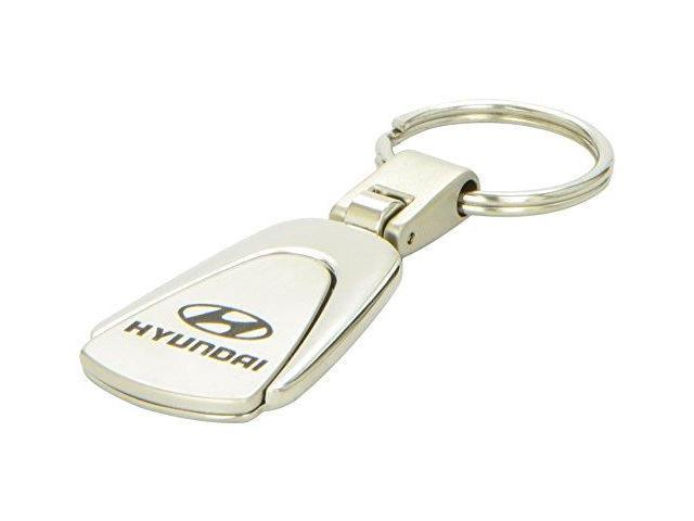 Auto Gold Kc3Hyu Stainless Steel Key Chains, Teardrop Style, for HYUNDAI