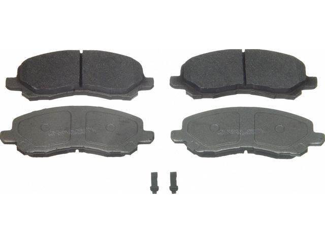 Wagner Mx866 Disc Brake Pad - Thermoquiet, Front