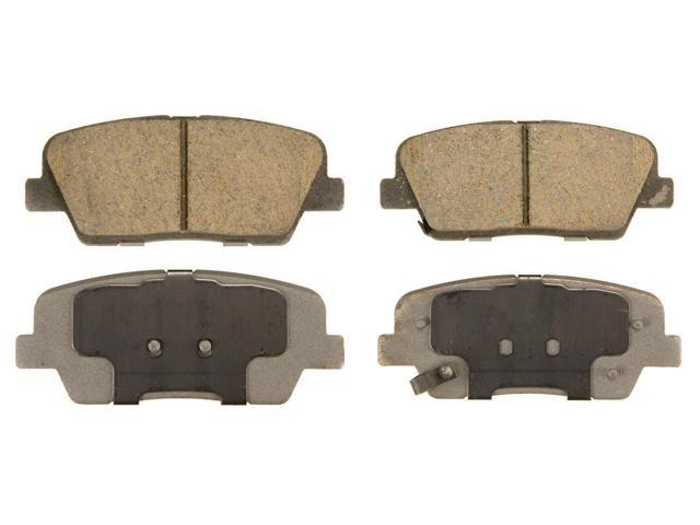 Wagner Qc1284 Disc Brake Pad - Thermoquiet, Rear