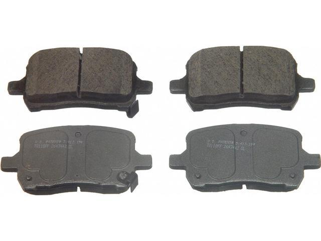 Wagner Qc1028 Disc Brake Pad - Thermoquiet, Front