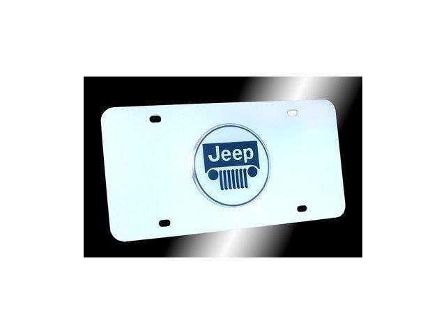 Auto Gold Jeecc Jeep Logo Chr/Chr Plate