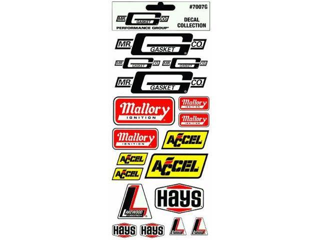 Mr. Gasket 7007G Mr. Gasket Performance Decal