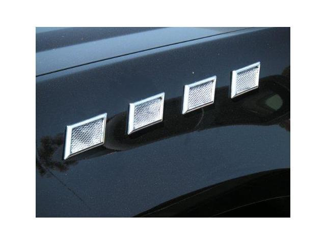 Tfp 10137Up Trapezoid Chrome Screen Port Insert Accent