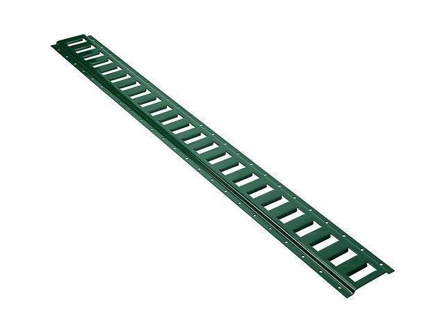 Keeper 89327 4' Horizontal E-Track With Green Finish