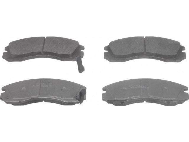 Wagner Qc530 Disc Brake Pad - Thermoquiet, Front