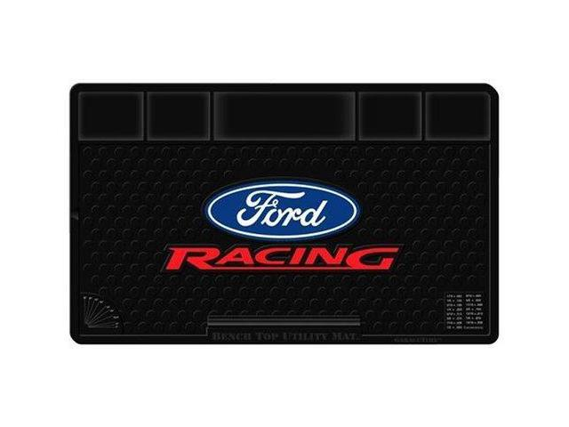 Plasticolor 002607R01 Ford Racing Molded Bench Top Utility Mat - 16