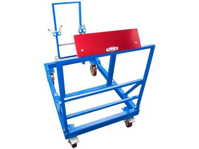 Prw 1300101 Blue Powder Coat Base Unit Racing Steel Engine Test Stand (Ets)