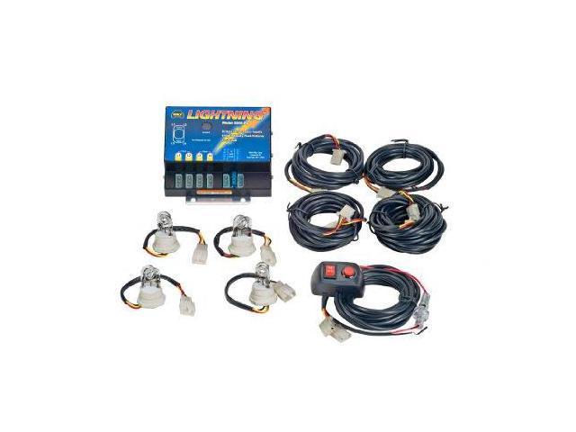 Wolo 80041Cccc Lightning 1 Strobe Kit