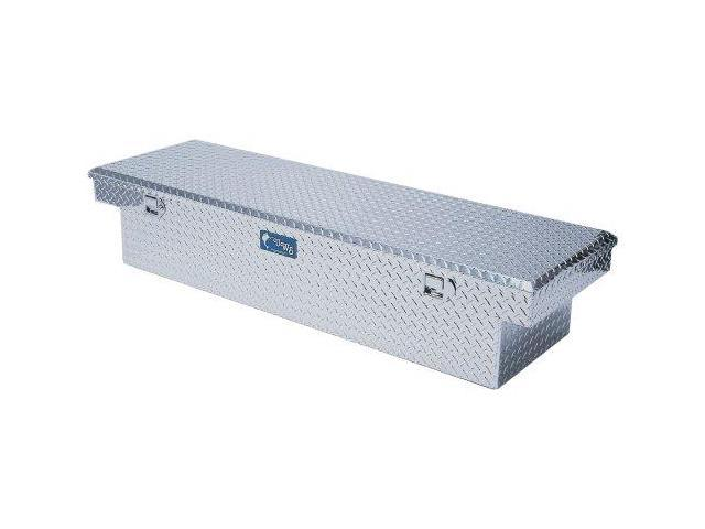 Uws Tbs-60 Single Lid Slim Line Aluminum Toolbox With Beveled Insulated Lid