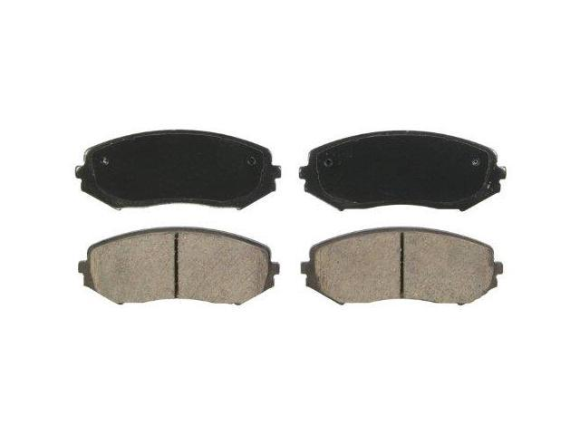 Wagner Quickstop Zd1188 Ceramic Disc Pad Set, Front