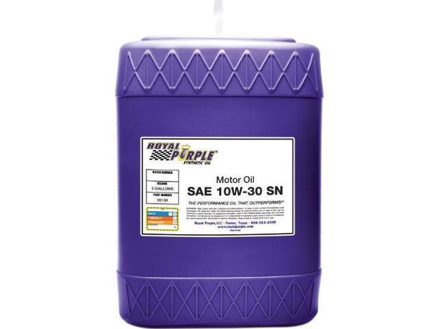 Royal Purple 5130 Multi-Grade Motor Oil Sn 10W30 5 Gal. Pail