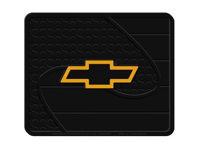 Plasticolor 001022R01 Chevy Gold Bowtie Factory Style Molded Utility Mat- 14