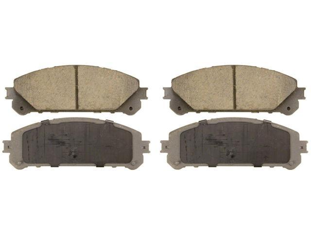 Wagner Qc1324 Disc Brake Pad - Thermoquiet, Front