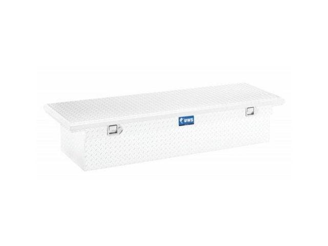 Uws Tbs-69-Lp Single Lid Low Profile Aluminum Toolbox With Beveled Insulated Lid