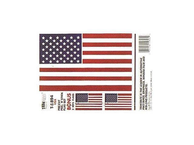 Trimbrite T1894 Sticker American Flag