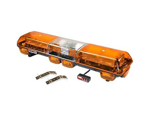 Wolo (7500-A) Infinity 2 Strobe Roof Mount Light Bar - Amber Lens