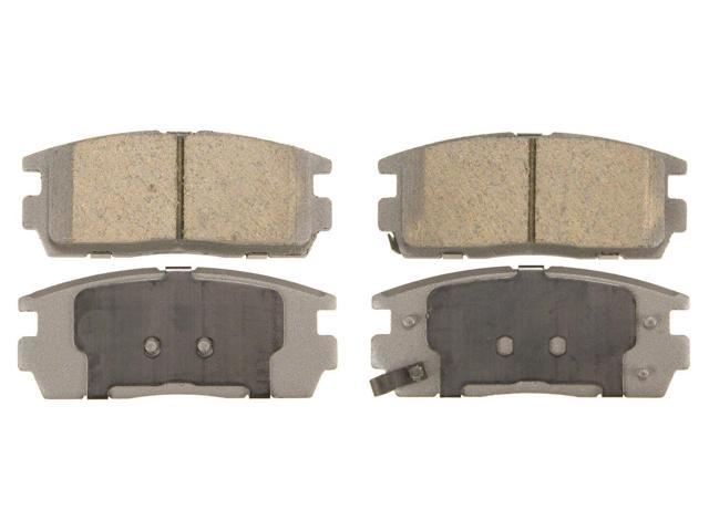 Wagner Qc1275 Disc Brake Pad - Thermoquiet, Rear