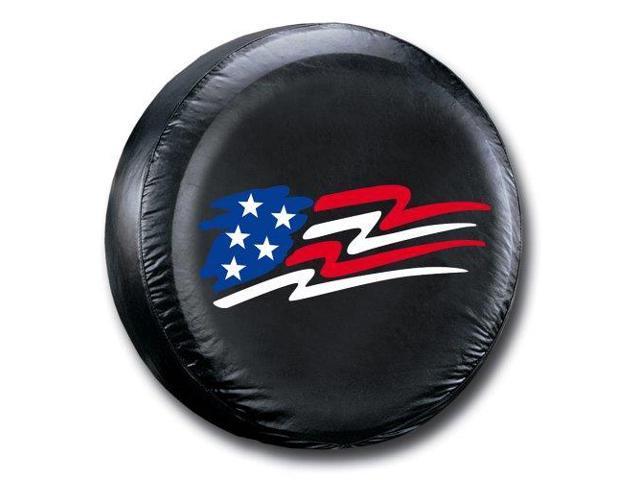Plasticolor 000798R01 American Flag Spare Tire Cover