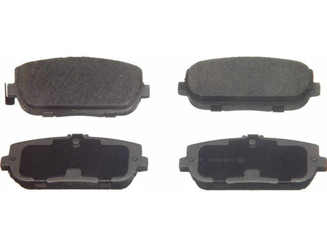 Wagner Pd871 Disc Brake Pad - Thermoquiet, Rear