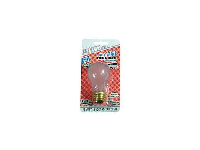 Camco 54892 A-19 25W/12V Replacement Home Light Bulb - Pack Of 2