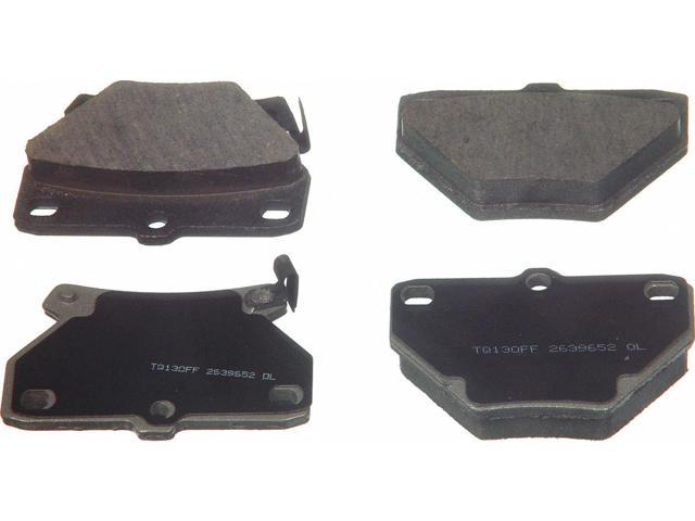 Wagner Qc823 Disc Brake Pad - Thermoquiet, Rear