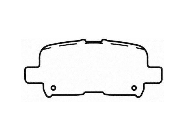 Wagner Pd865 Disc Brake Pad - Thermoquiet