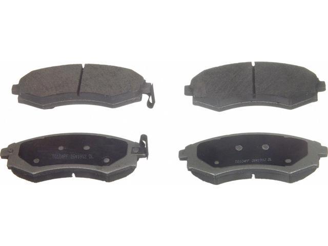 Wagner Pd887 Disc Brake Pad - Thermoquiet, Front