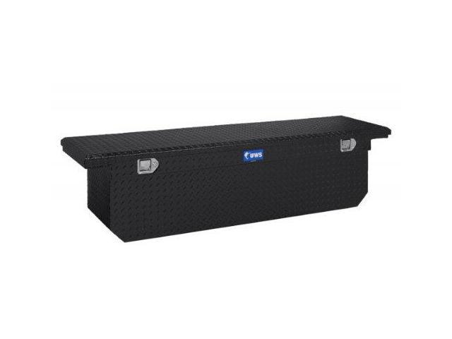 Uws Tbsd69Lpblk Tool Box: Fits Various Makes And Models; Low Profile Cross Box;