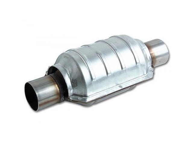 Vibrant 7038 Round Ceramic Core Catalytic Converter