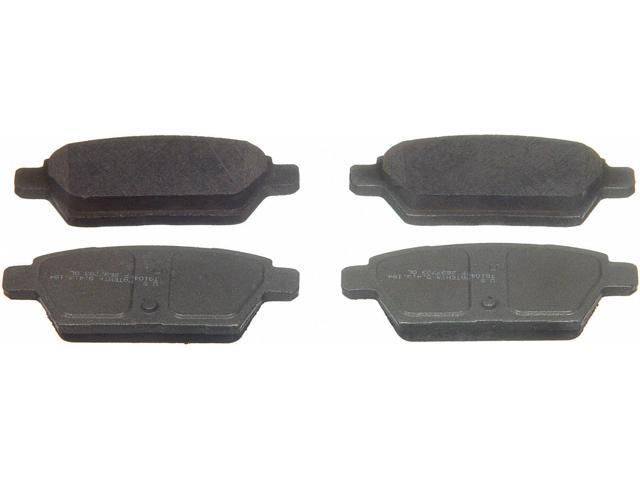 Wagner Pd1161 Disc Brake Pad - Thermoquiet, Rear