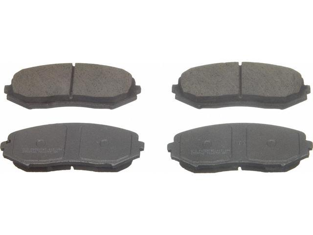 Wagner Qc1188 Disc Brake Pad - Thermoquiet, Front