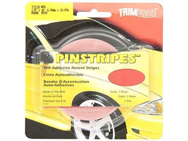 Trimbrite T1218 Trim Stripe Red 1/4 Tape