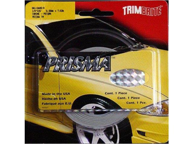 Trimbrite T0914 1/4X25Chrome Prisma Strip