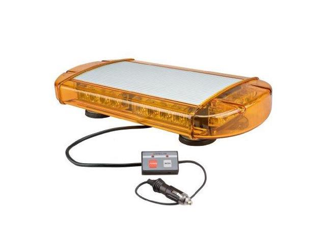 Wolo (3770M-A) Outer Limits Gen 3 Led Low Profile Mini Light Bar - Amber Lens