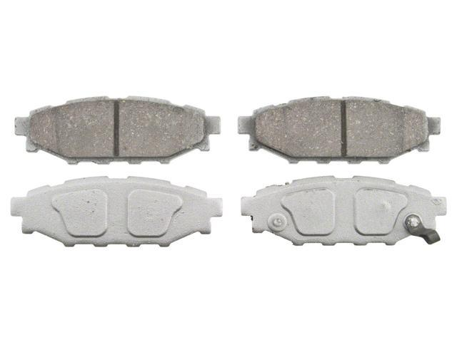 Wagner Pd1114 Disc Brake Pad - Thermoquiet, Rear