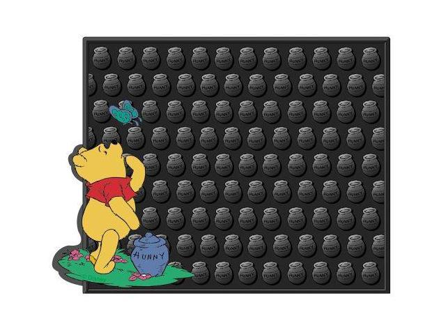 Plasticolor 001003R01 Winnie The Pooh And Butterfly Molded Utility Mat- 14