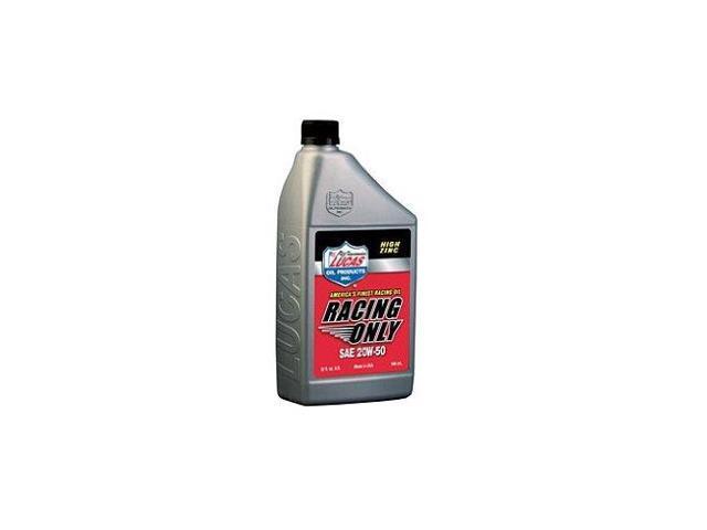 Lucas Oil 10620 20W-50 Petroleum Racing Oil - 1 Quart Bottle